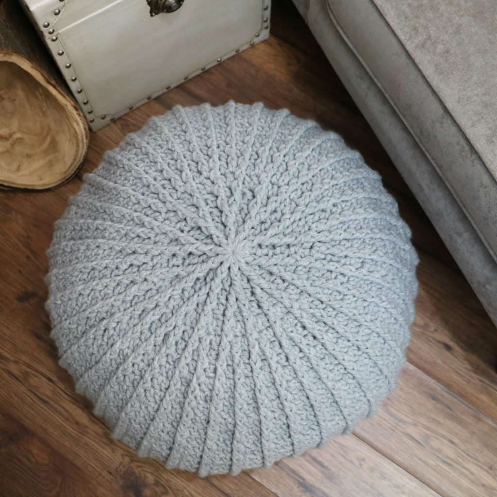 floor pouf tutorial