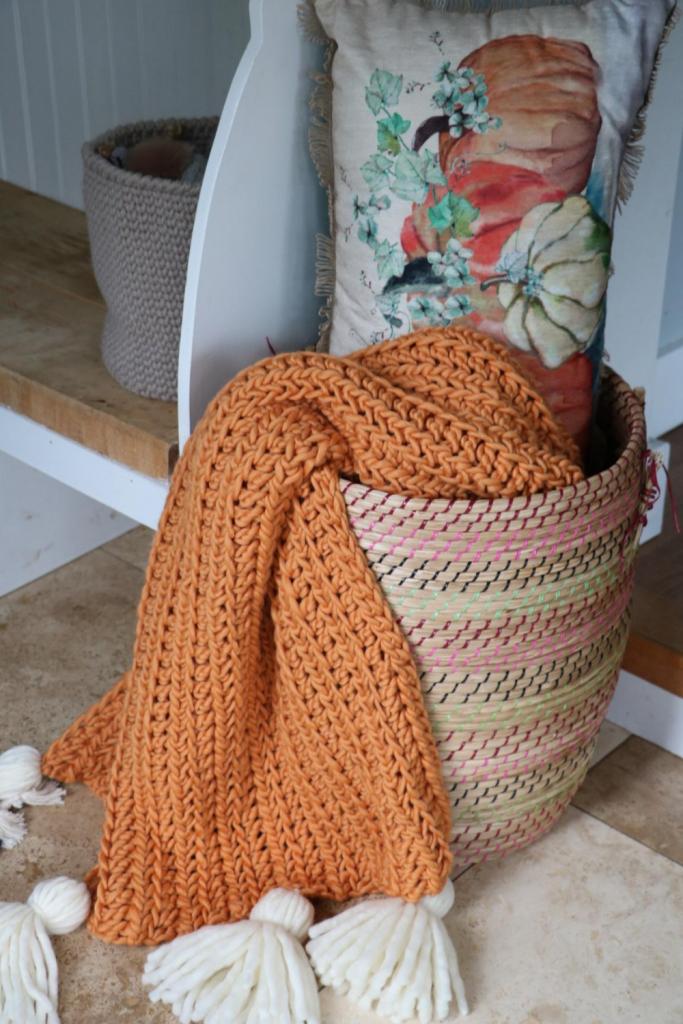 Crochet Chunky Blanket Free Pattern Mj S Off The Hook Designs