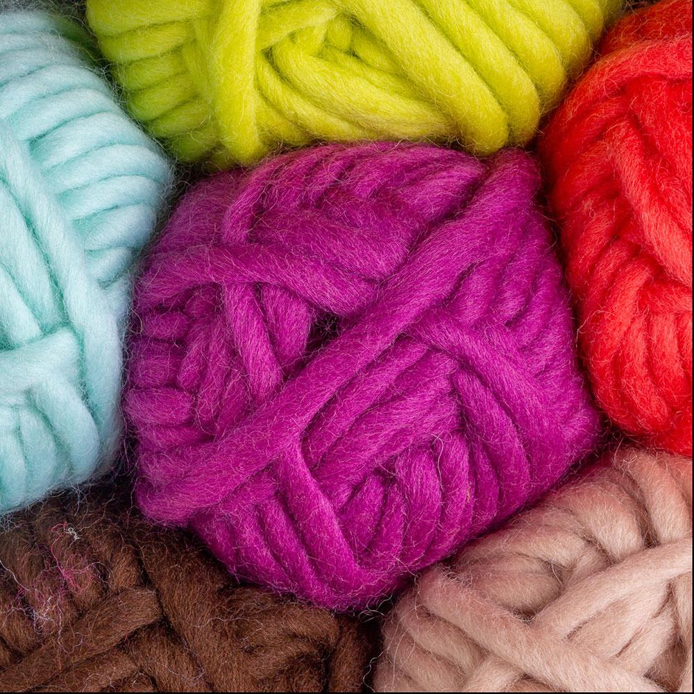 Tuff puff wool yarn
