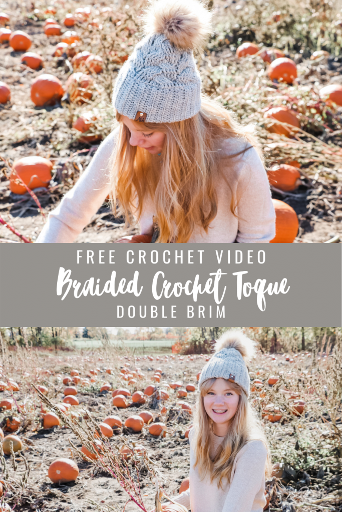 Braided Crochet Hat
