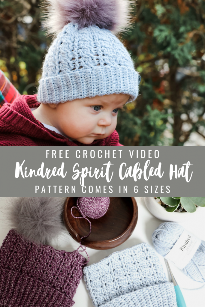Kindred Spirit Cabled hat