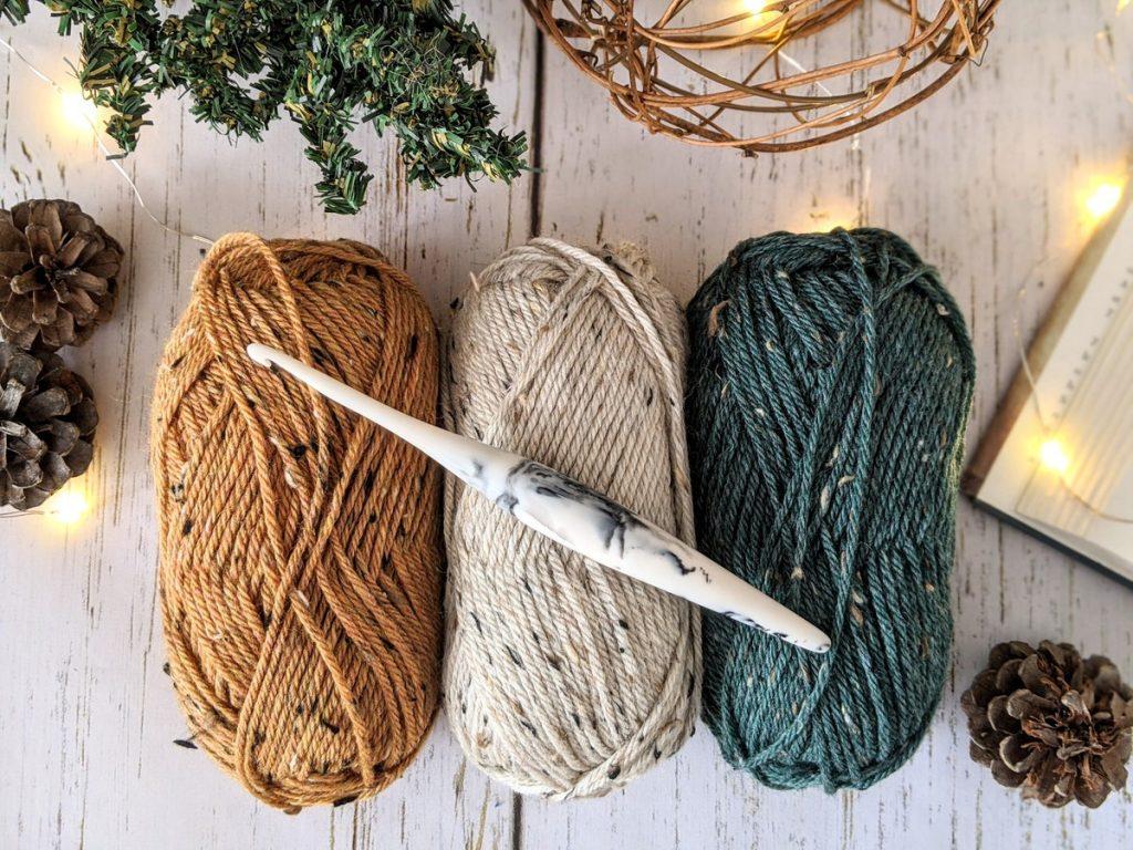 Wool of The Andes Tweed