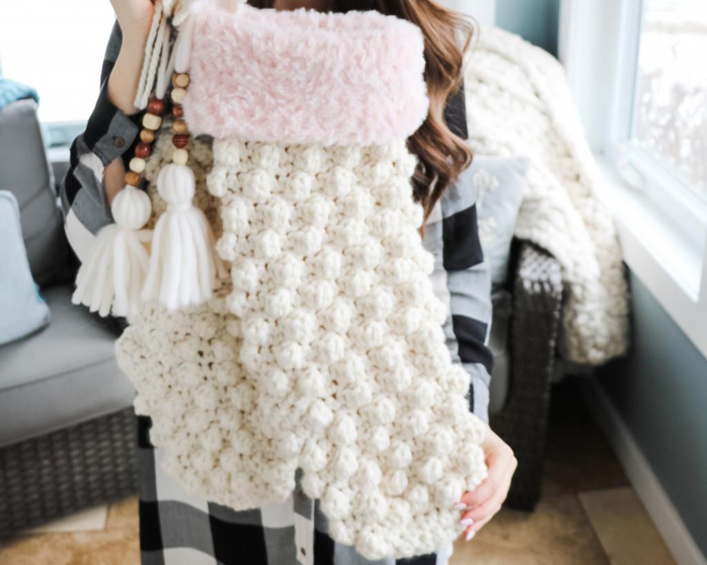 Crochet Christmas Stocking