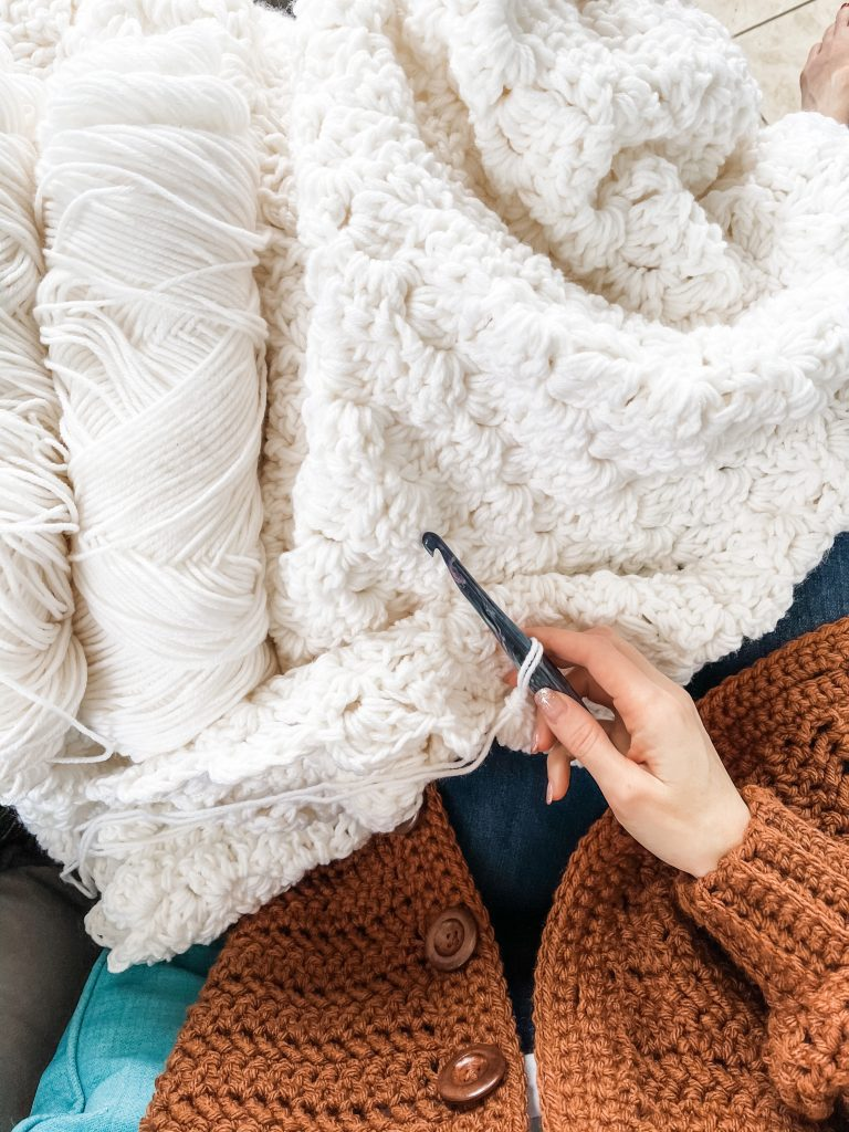 crochet C2C blanket