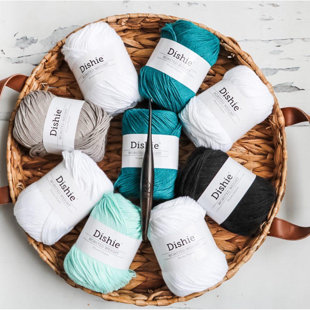 Dishie cotton yarn from wecrochet