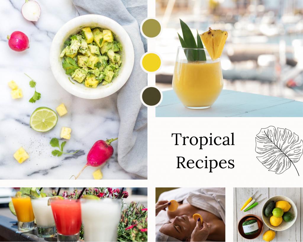tropical recipes