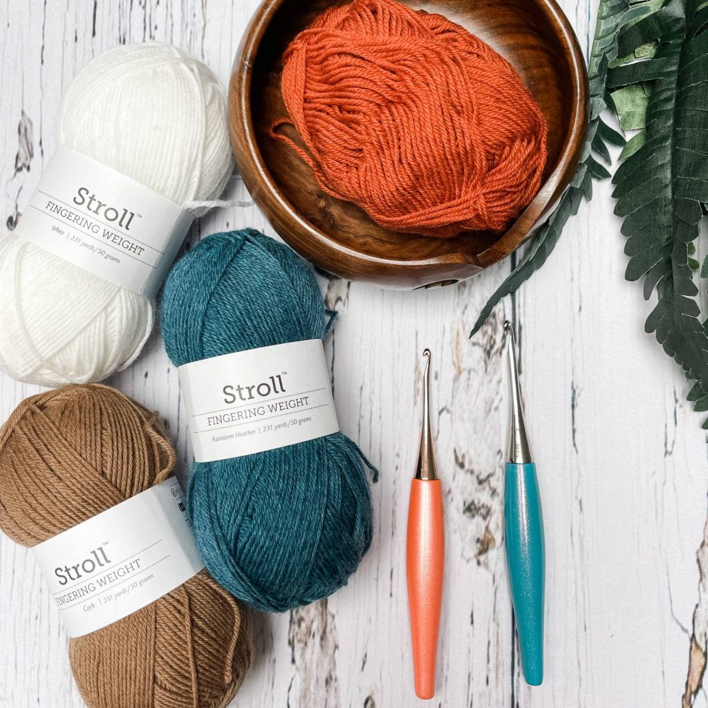 Furls hooks and yarn