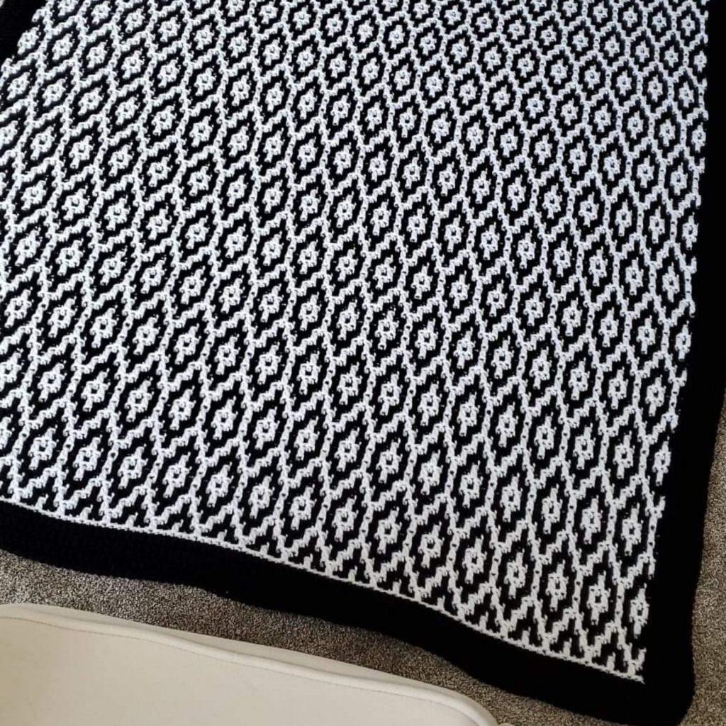 Cobertor Granite Ridge Mosaic